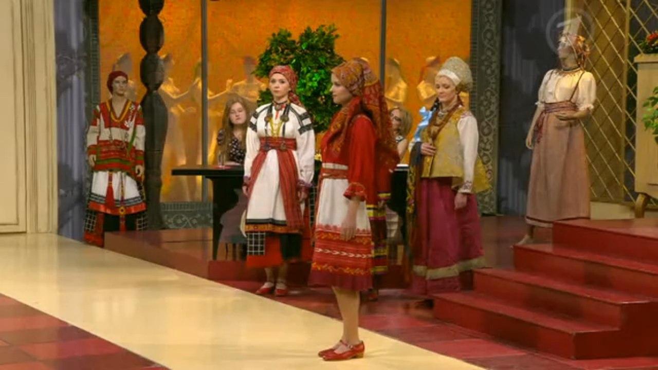 Модные советы: Русский народный костюм