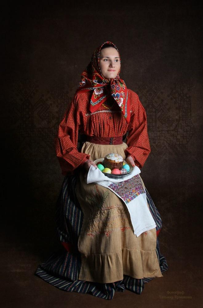 Фотопроект «РУССКИЙ КОСТЮМ: Наши традиции»