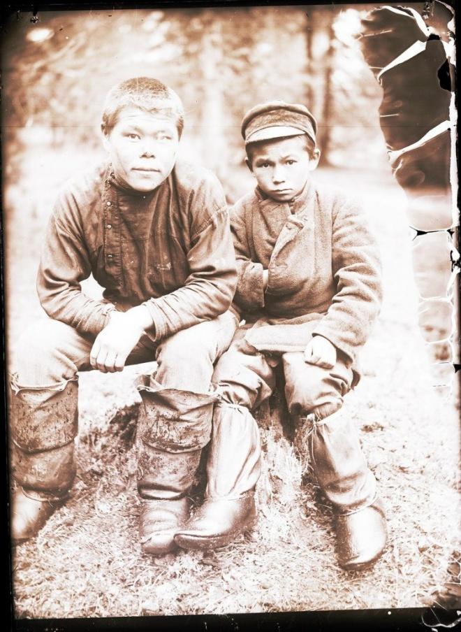 Село Ларьяк и окрестности / 1912-1913 // Тотемизм у cеверных остяков Сибири