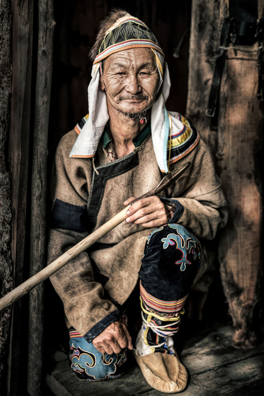 Удэгейский мужчина