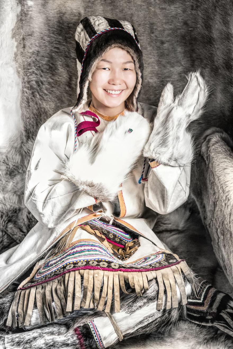 Юкагирская девушка