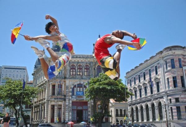 Бразильский танец фрево