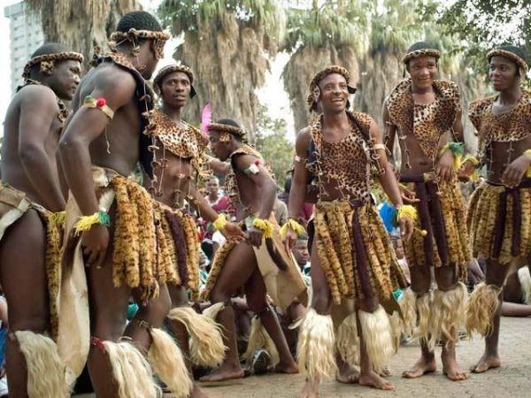 Африканские танцы
