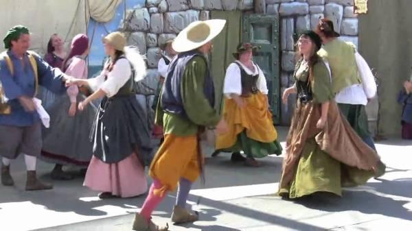 Английские деревенские танцы