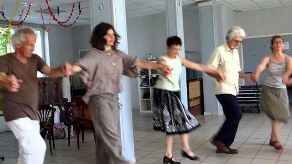 Сербский танец бисерка