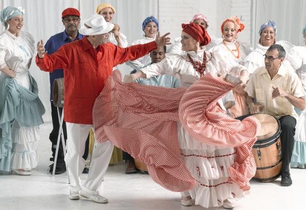 Пуэрто-риканский танец бомба