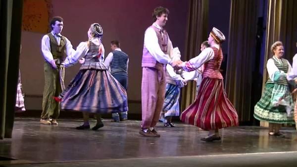Народные танцы Литвы