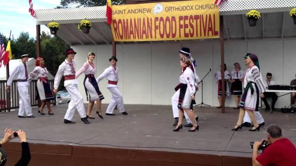 Народные танцы в Румынии