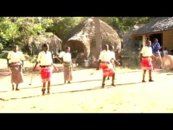 Африканский танец урожая