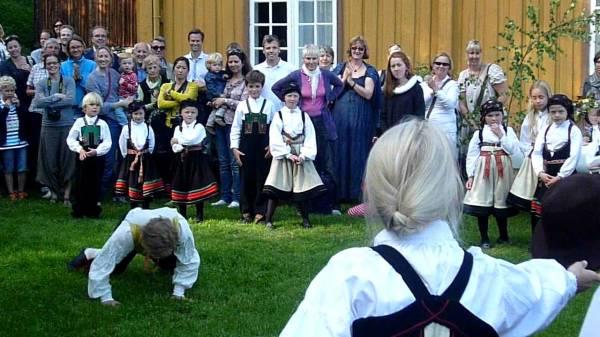 Норвежские народные танцы