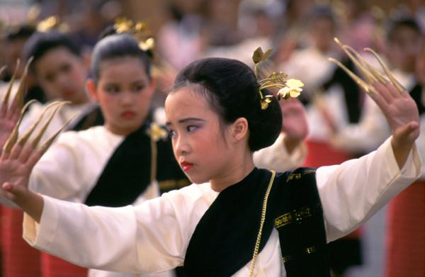 Тайские народные  танцы