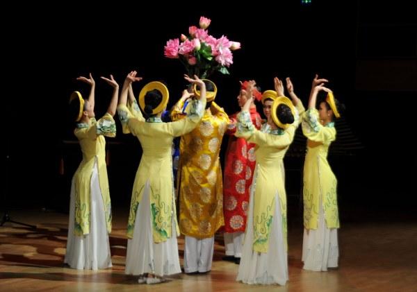 Танцы Вьетнама