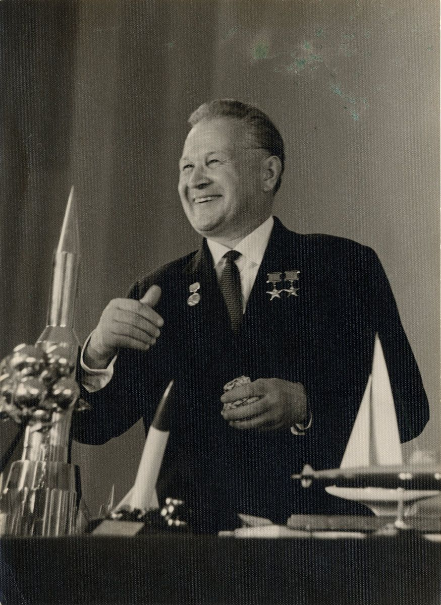 Владимир Николаевич Челомей (1914 — 1984 гг.)