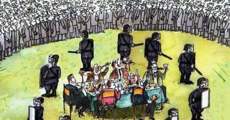 Картинка из интернета: Какова же функция милиции? Защита «сложившейся» системы общественных отношений