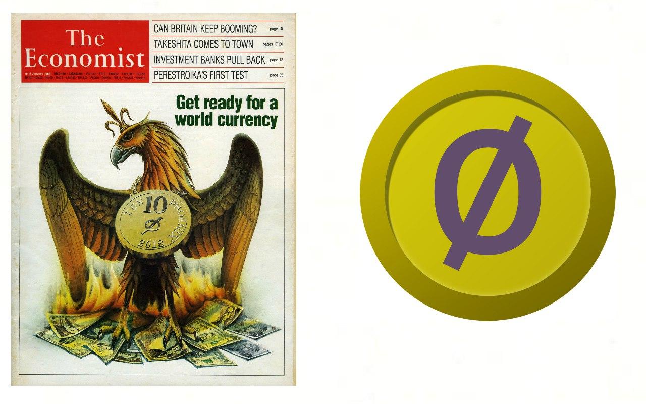 Обложка журнала The Economist 1988 года