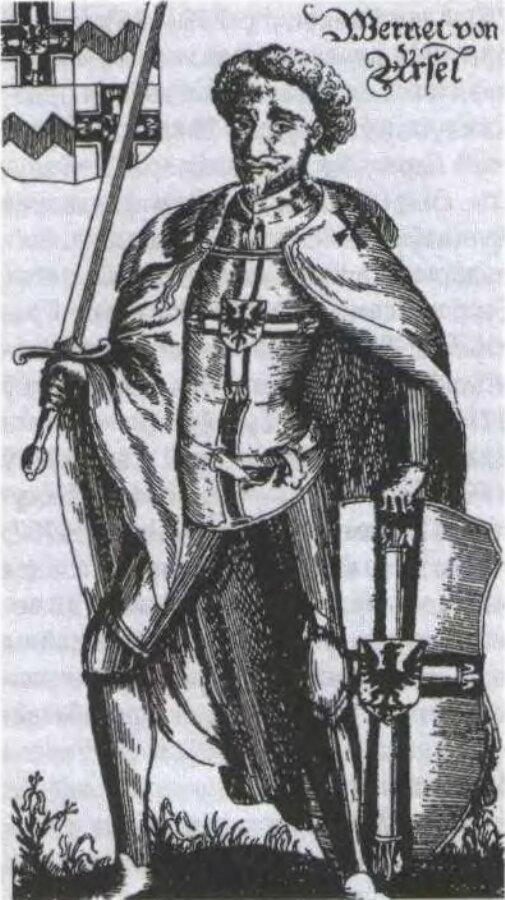 Великий магистр Тевтонского ордена Вернер фон Орзельн