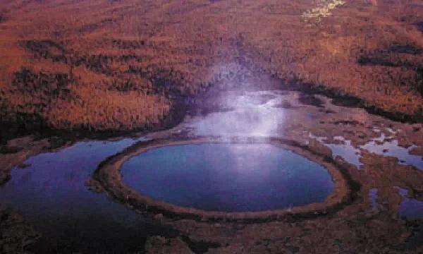 Одно и фото таких кругов в Долине Смерти