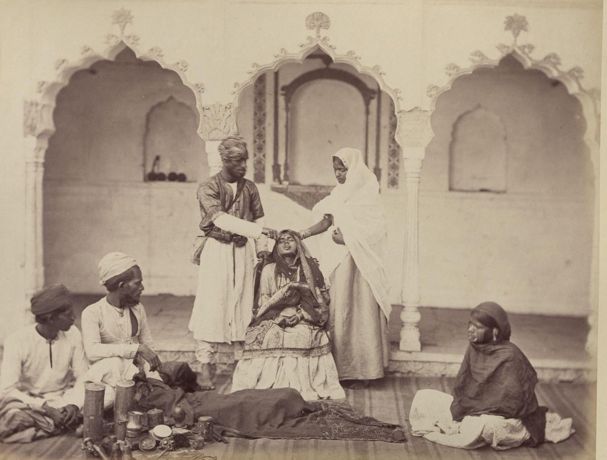 Albom fotografii indiiskoi arhitektury vzgliadov liudei 17