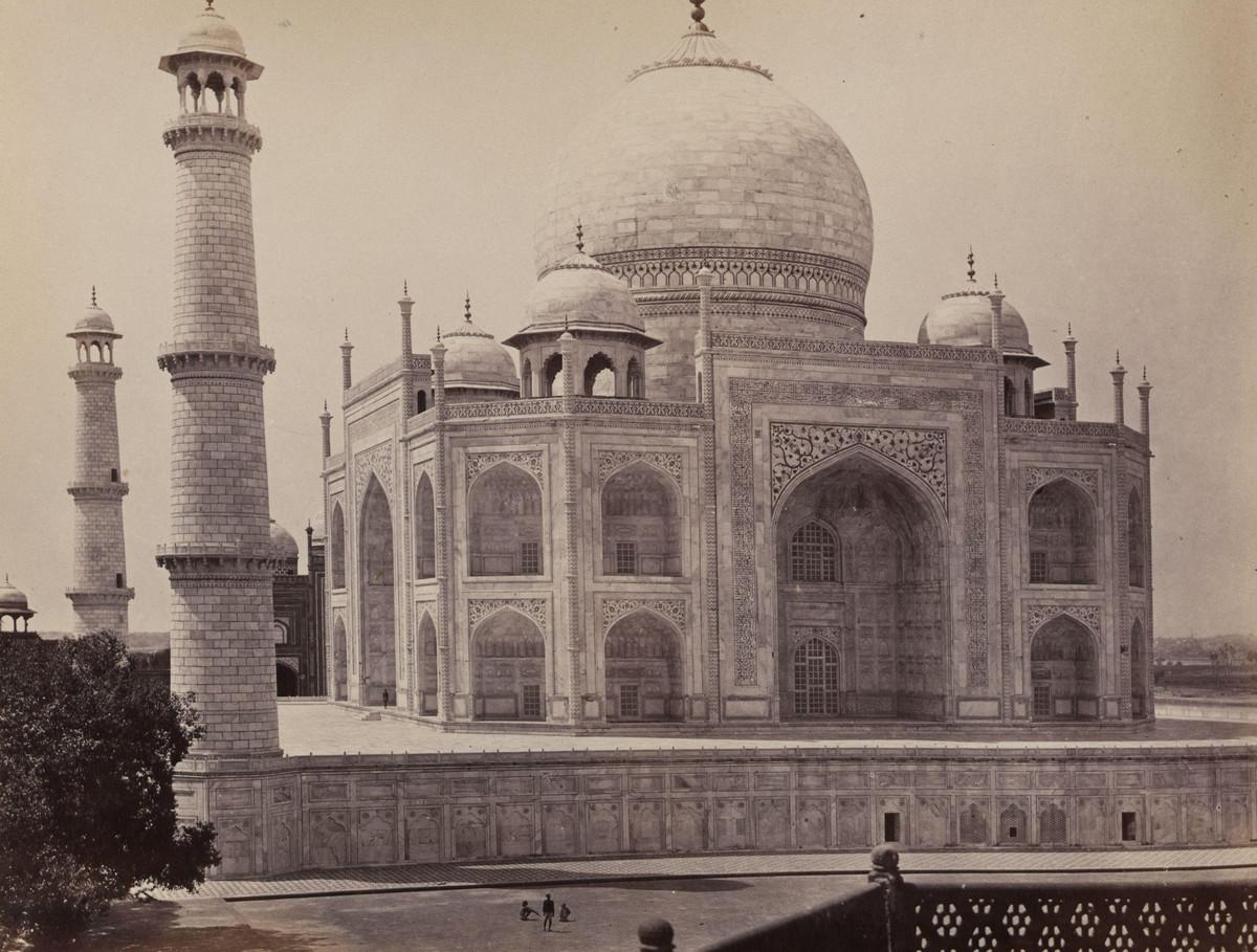 Albom fotografii indiiskoi arhitektury vzgliadov liudei 36