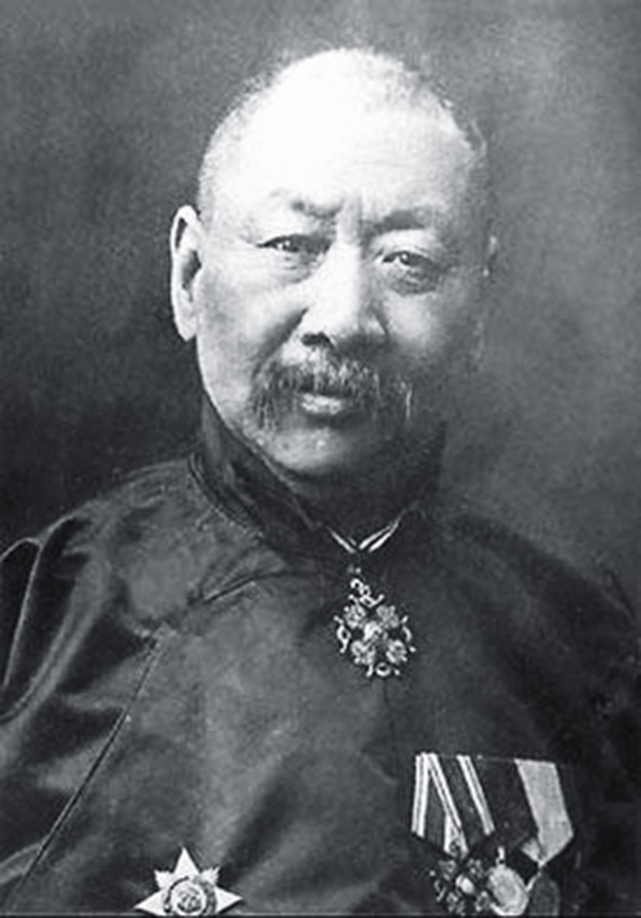 Николай Тифонтай с орденами Российской Империи