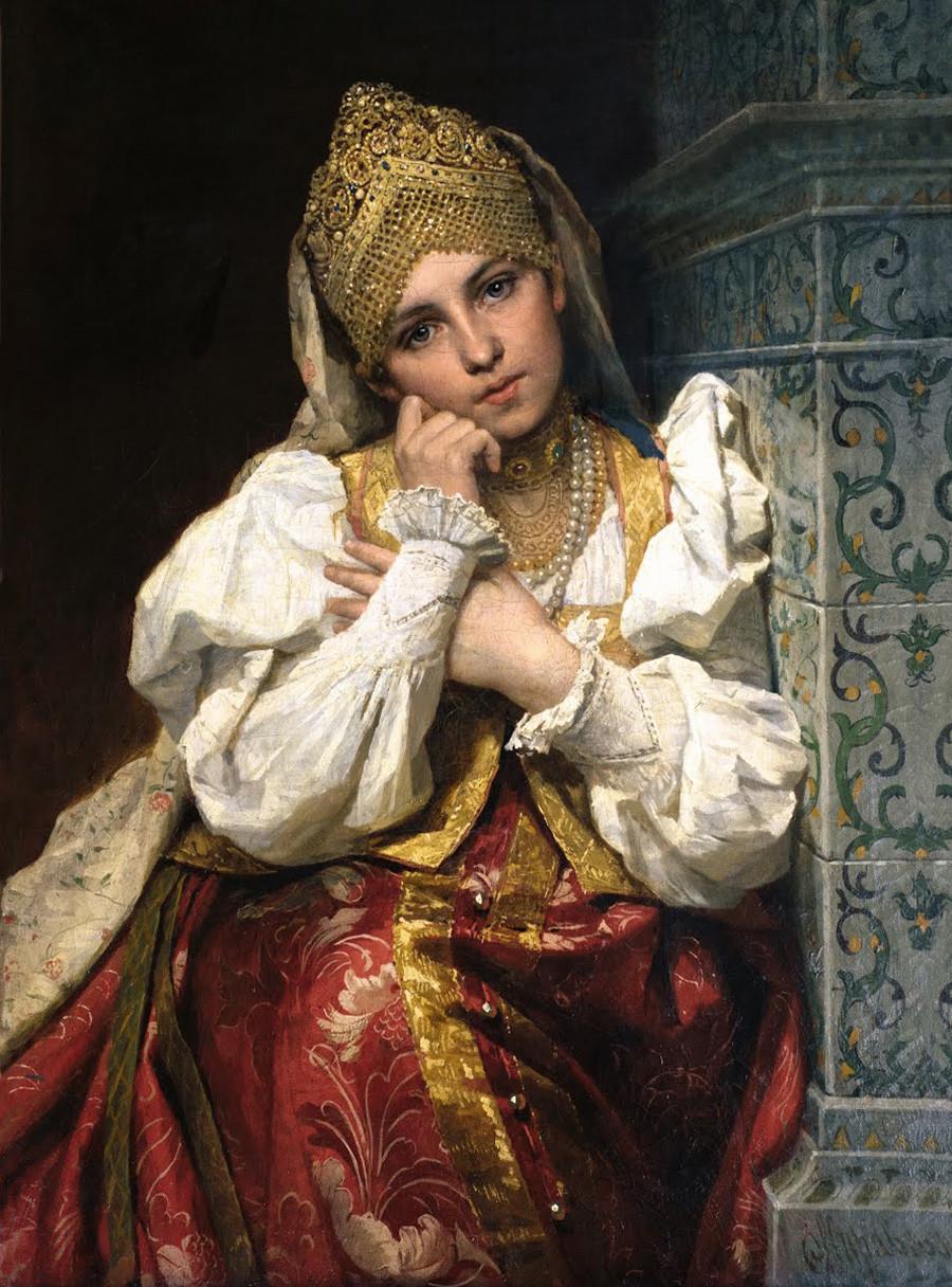 «Боярышня». Фирс Журавлев, 1897