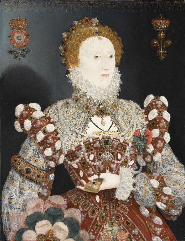 Елизавета I Тюдор.