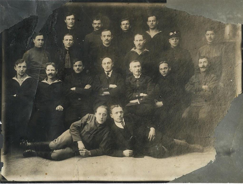 Члены первого исполнительного комитета корабля «Андрей Первозванный».
