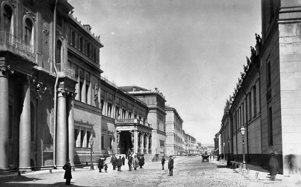Миллионная улица. 1870-е