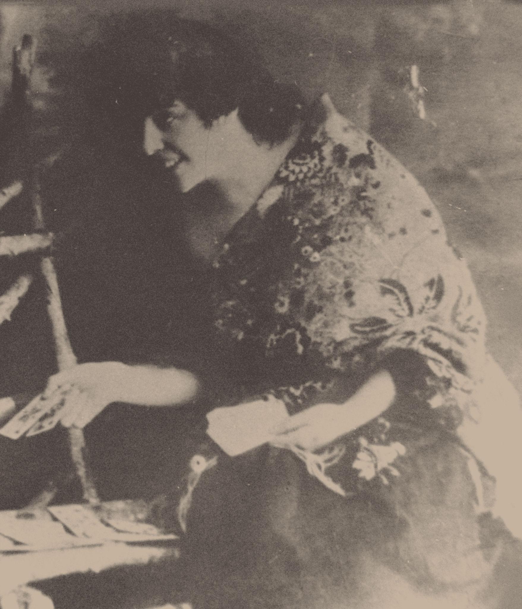 Мария Михайловна Семёнова-Глебова, жена атамана Семёнова
