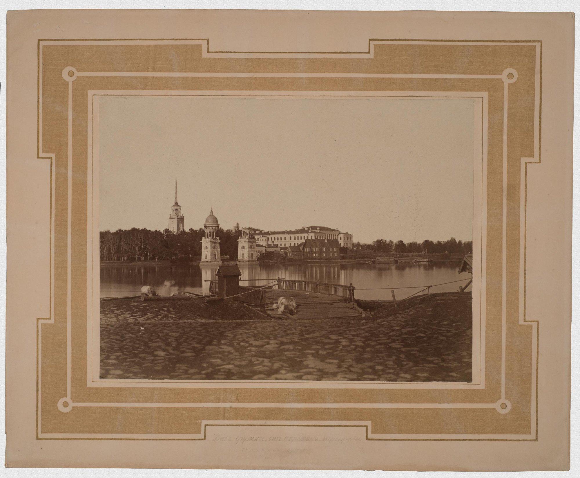 1880-е. Общий вид Грузина от паромной пристани