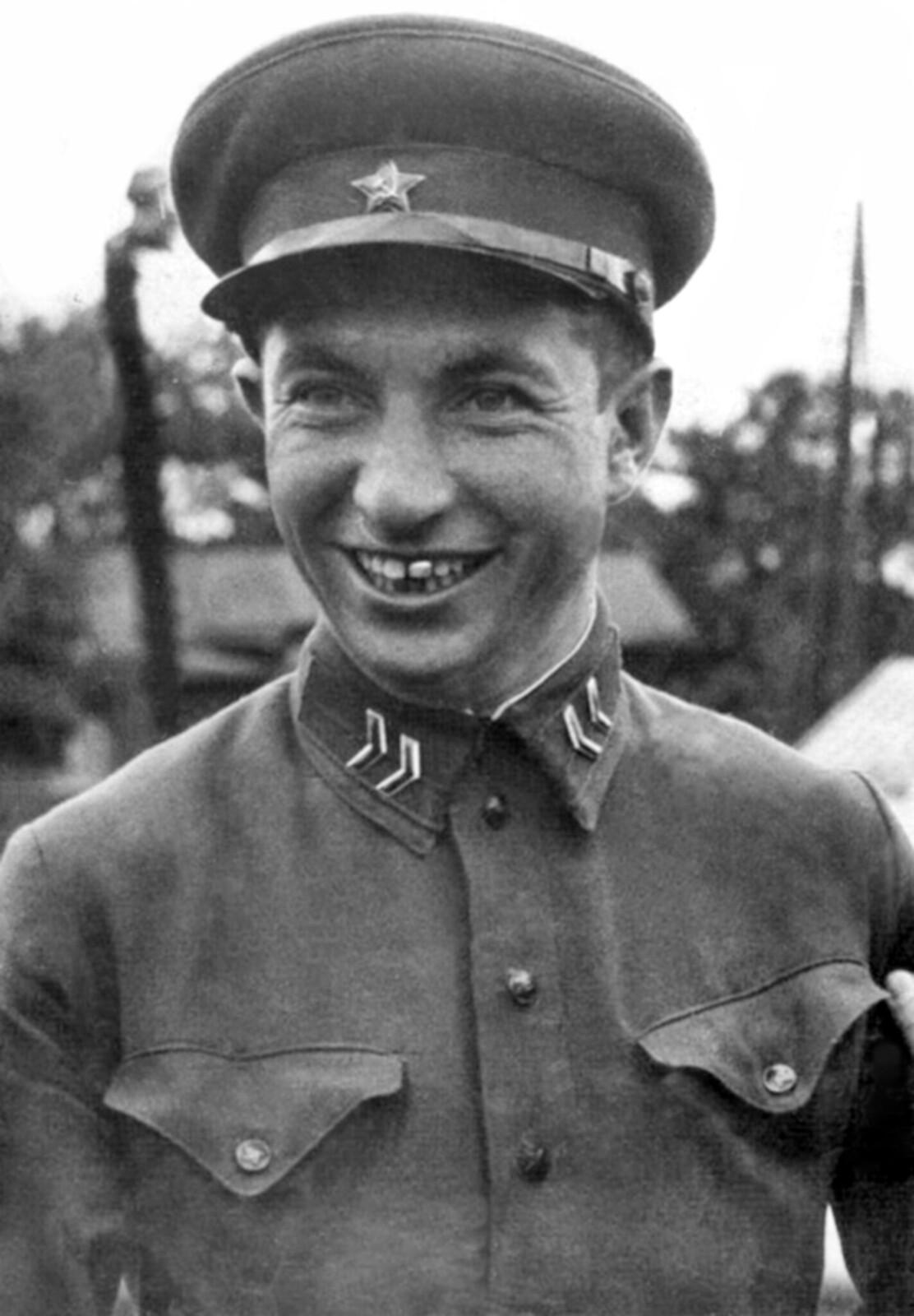 1936. Отделённый командир Александра Гаврилович Шилов