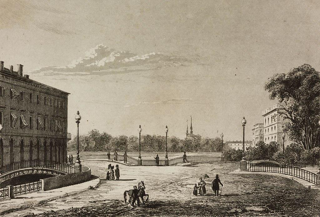 1838. Трёхарковый мост