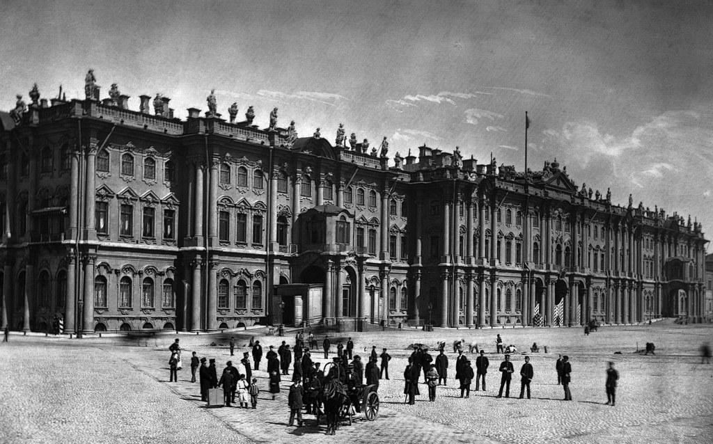 Фасад Зимнего дворца