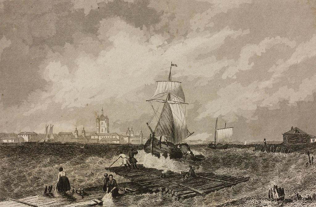 1838. Вид Смольного собора