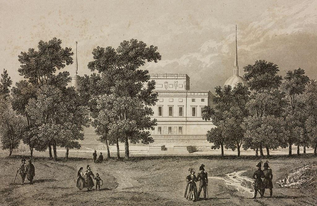 1838. Вид на Михайловский (Инженерный) замок