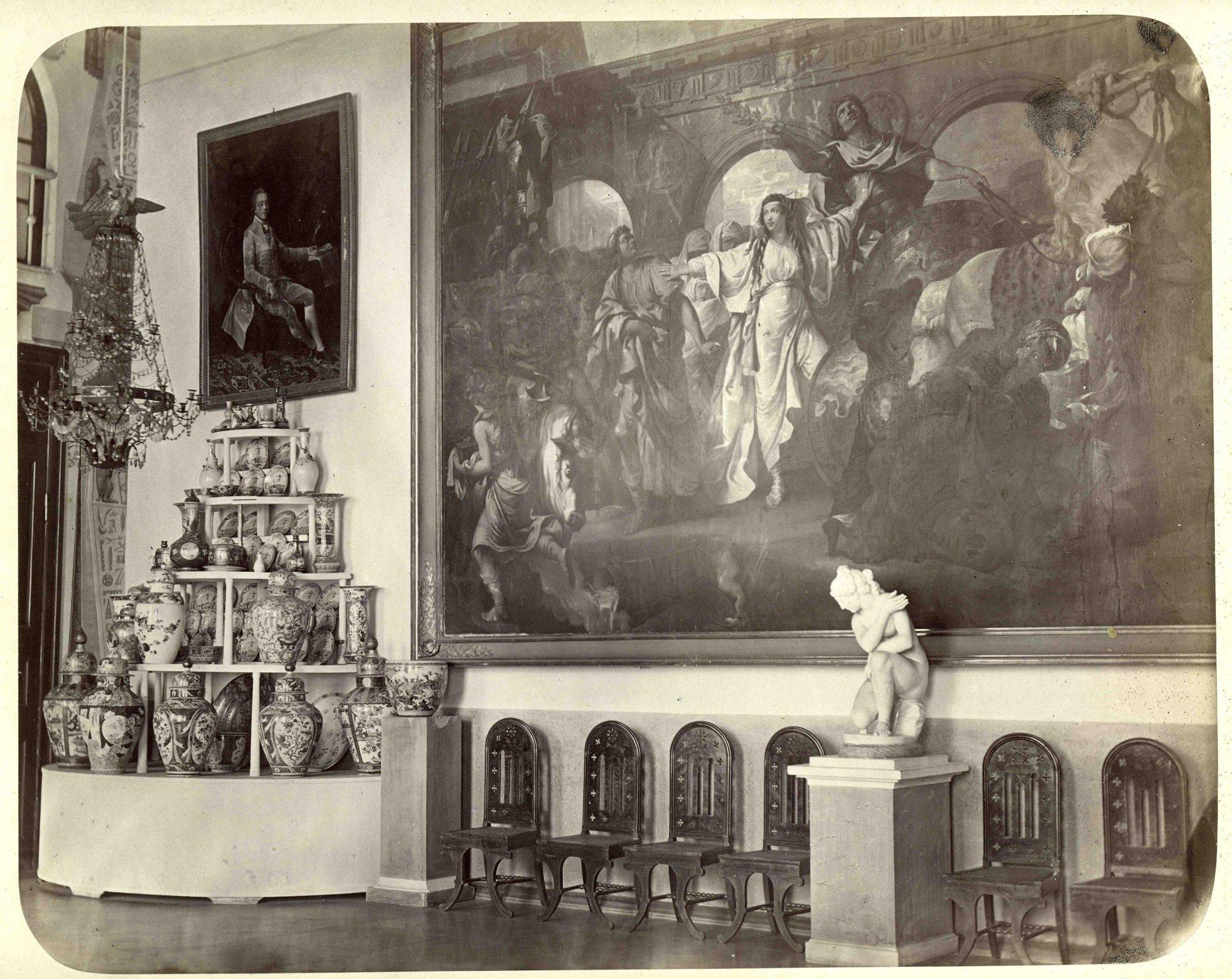 1870-е. Архангельское. Столовая