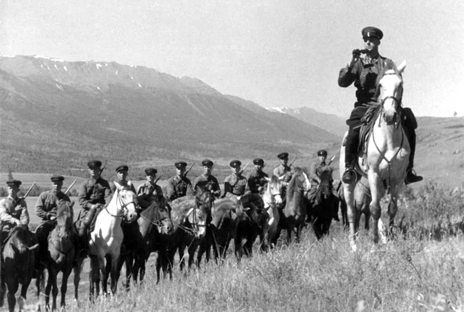 1940. Катон-Карагайский район Восточно-Казахстанской области Казахской ССР. Август