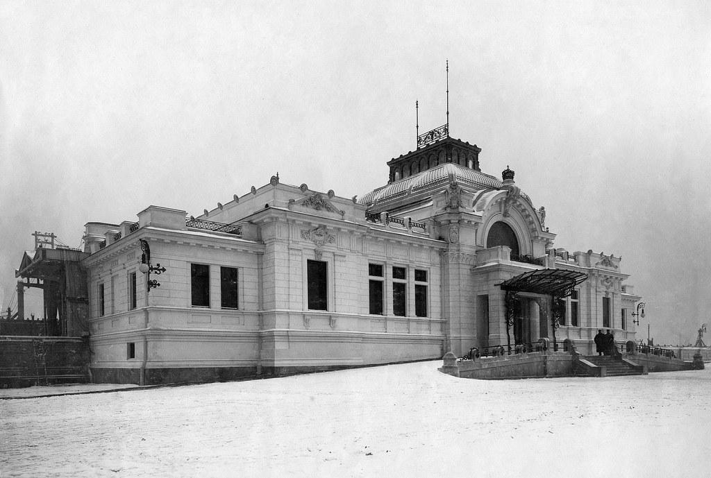 Станция императорских поездов. 1902