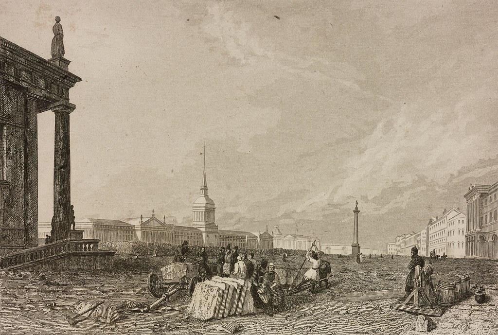 1838. Адмиралтейская площадь