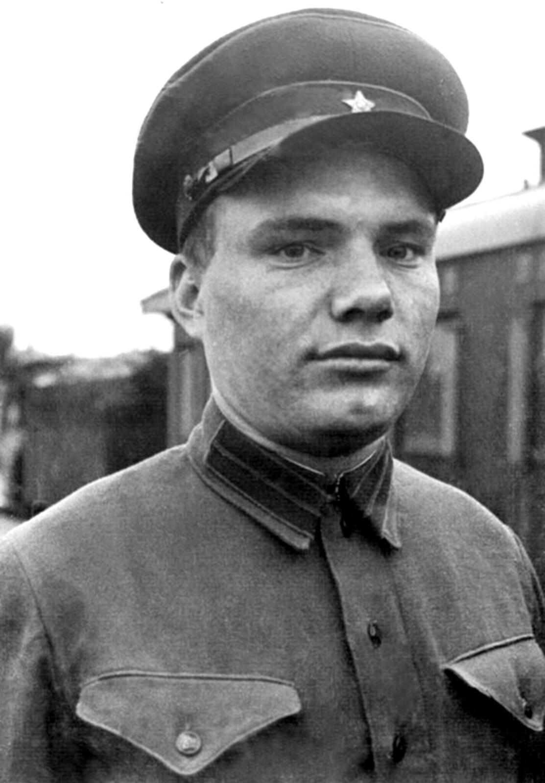 1936. Рядовой боец-пограничник Прокофий Павлович Стрелкин