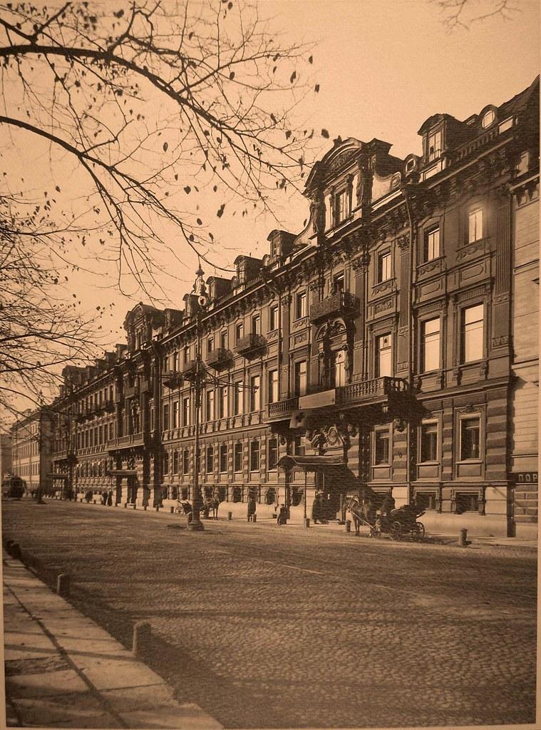 Конногвардейский бульвар, 17. 1915