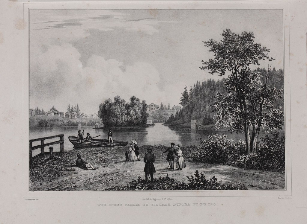 1833. Село Ижора