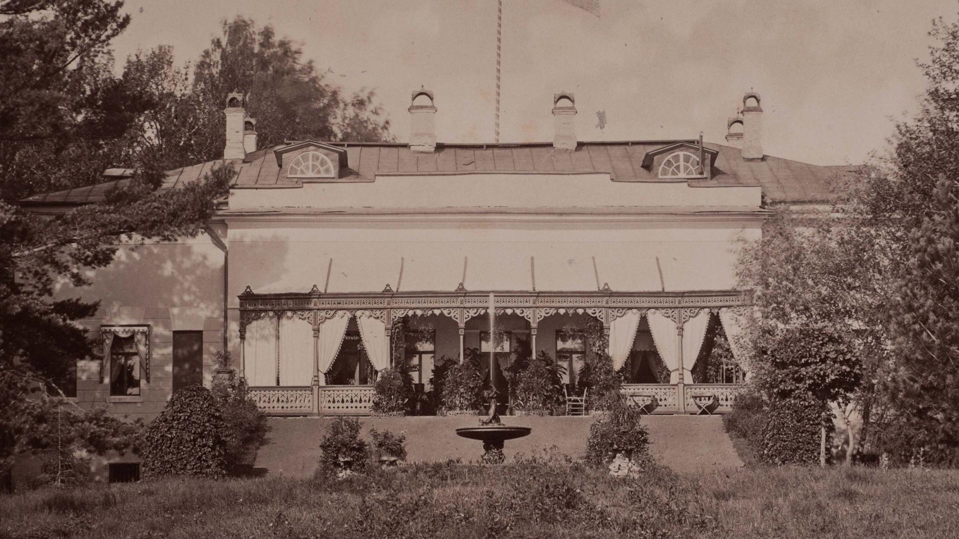 1882. Усадьба в Плещеево