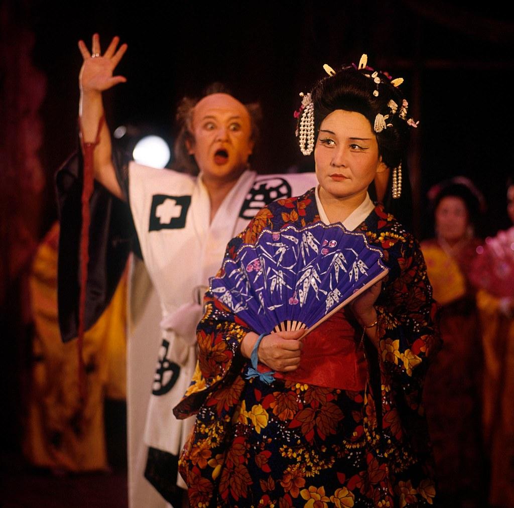 Якутск. Опера Пуччини «Чио-Чио-Сан» на сцене Якутского музыкального театра