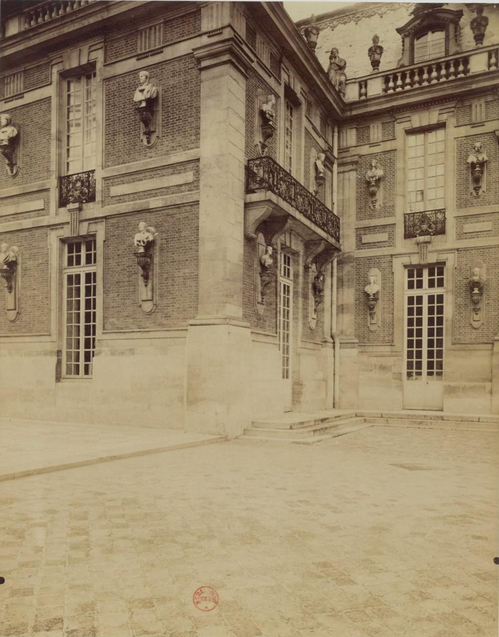 Версальский дворец. Фрагмент фасада