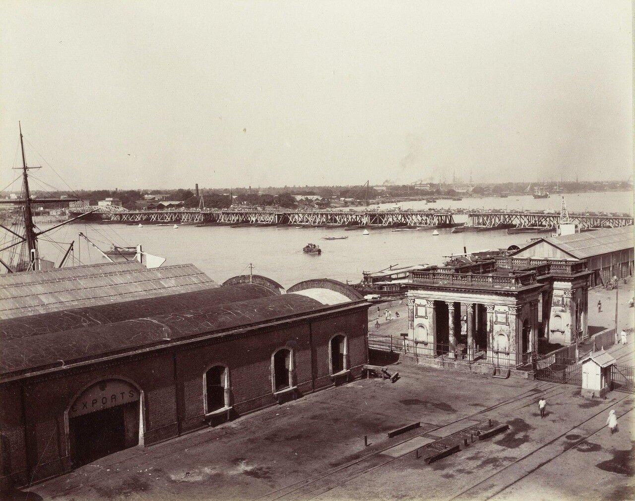 Бомбей. Гавань. 1880