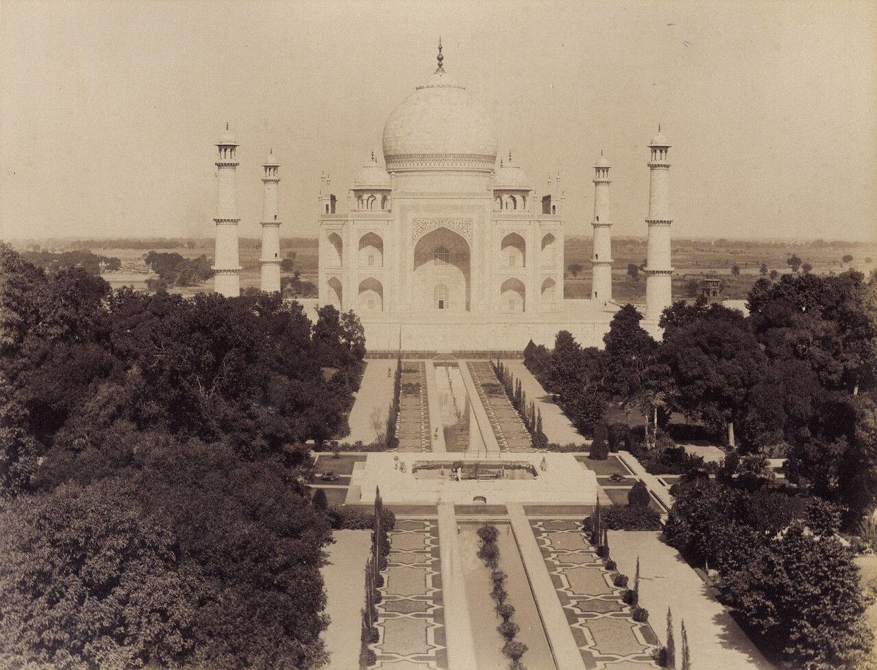 Акра. Тадж-Махал. 1880