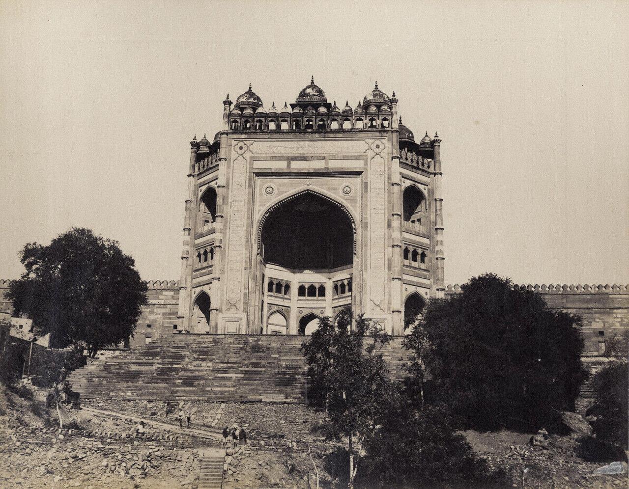 Фатехпур Сикри. Буланд-Дарваза. 1880