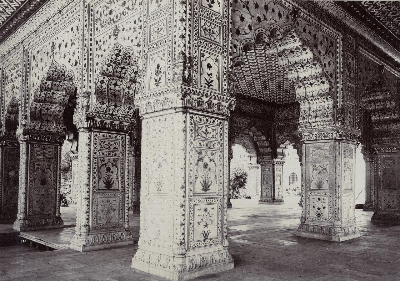 Дели. Диван-е-Хас. 1890