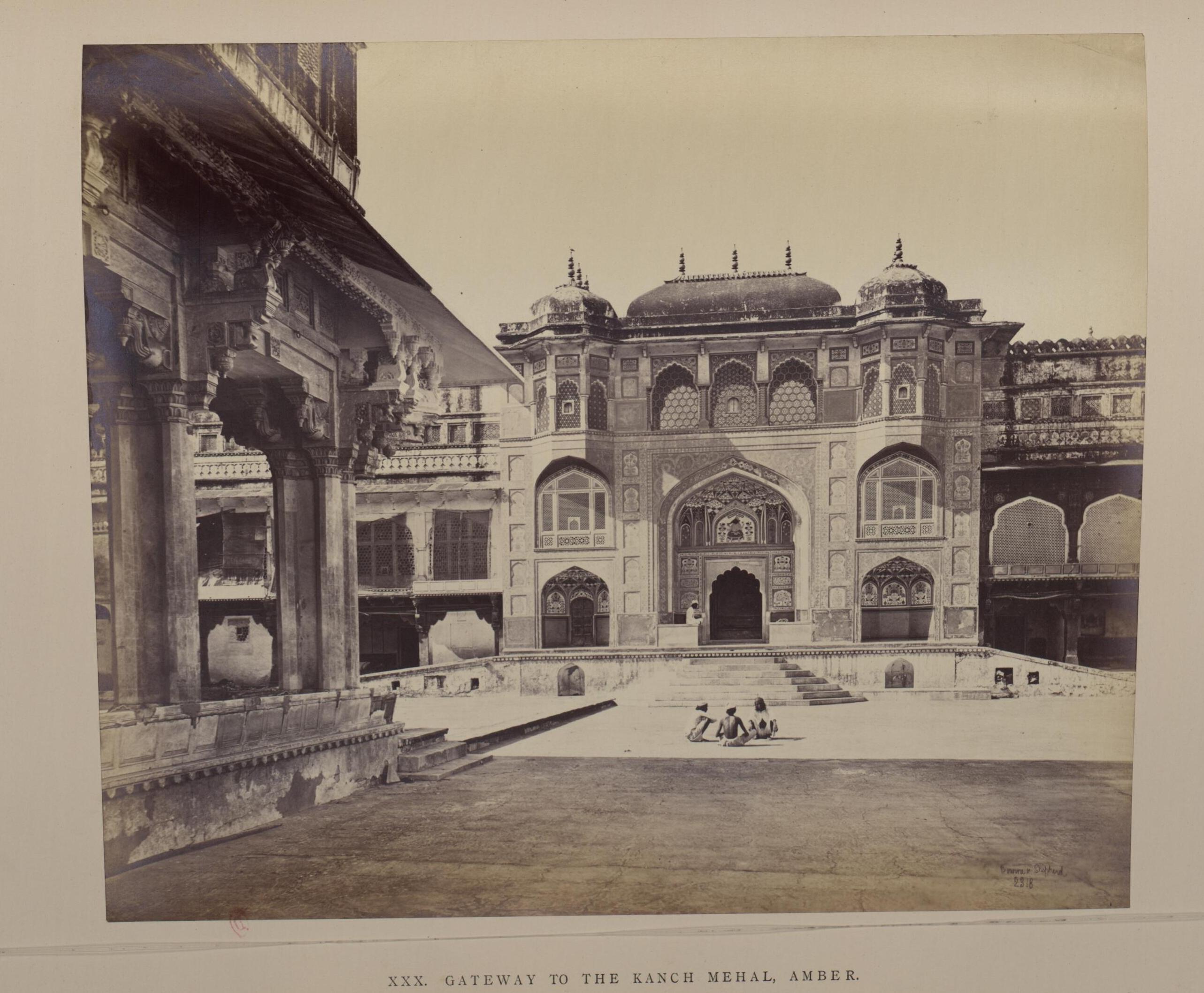 Джайпур. Дворец Амбер